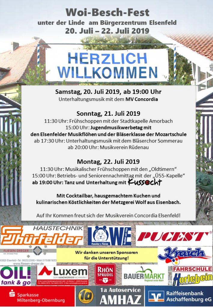 Woi-Besch-Fest @ Unter der Linde am Bürgerzentrum