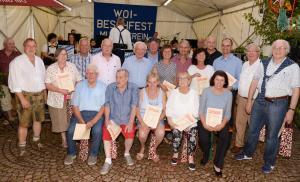Woi-Besch-Fest Ehrungen 2019