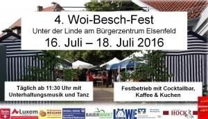 Woi - Beschfest 2016
